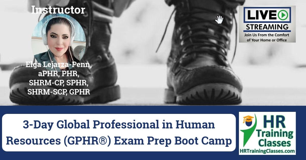 3-Day GPHR Exam Prep Boot Camp