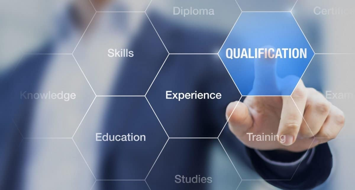 qualification certification experience